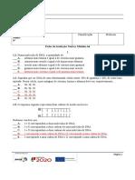 Teste 1-Módulo A4