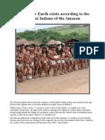 Macuxi Indians