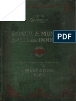 1905, Roach & Musser, Iowa, US