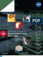 2008 GRC Accomplishments Report