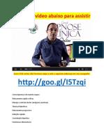 Curso de Hipnose Clinica