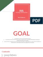 iaal- writing instruction