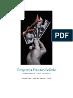 Proyectos Fracaso Bolivia