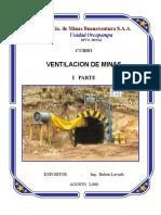 curso ventilación Minera