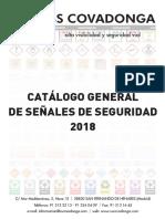 Catalogo Covadonga Señales de Seguridad 2018