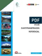 Evapotranspiración Peru Atlas 2013