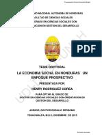 La economía social en Honduras
