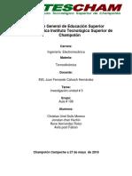 Investigacion Termodinamica Unidad # 3