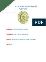 Introduccion a La Historia Constitucional Del Peru Toño