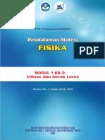 Fisika Modul 1 KB 2 - Vektor dan Gerak Lurus.pdf