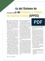 Auditoria del sistema HACCP