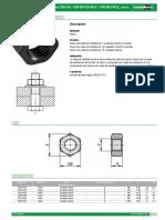 07210 ST Datasheet 19887 Tuercas Hexagonales DIN 934 DIN en ISO 4032 DIN en 24032 Acero--es