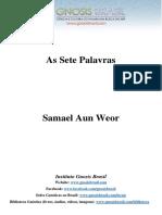 Samael Aun Weor - As Sete Palavras.pdf