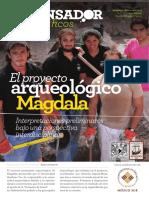 La pesca en el Mar de Galilea y el Magdala del Siglo I. Arqueología y Etnoarqueología del Paisaje, Proyecto Magdala, Israel 2013