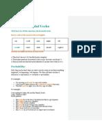 Homework Modal Verbs