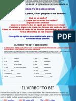 2Evidencia Docente 2_El-Verbo-To BE