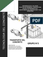 Transporte Del Concreto 2017