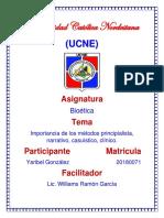 Universidad Católica Nordestana Presentacion