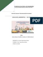 1er Informe Geologia Ambiental
