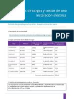 15_t3s4_c_pra_ev_p    PRACTICA  INSTALACION ELECTRICA CALCULO POTENCIA Y COSTO DE CONSUMO