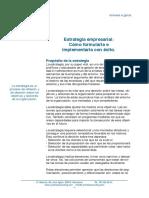 Estrategia empresarial. Cómo formularla e implementarla con exito - Cynertia.pdf