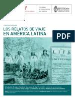 Fernández Bravo, Álvaro. Los Relatos de Viaje en América Latina