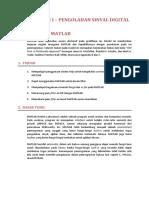 Modul 1 - Praktikum Pengolahan Sinyal Digital
