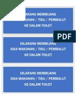 Peringatan Toilet