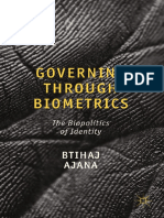 Btihaj Ajana auth. Governing through Biometrics The Biopolitics of Identity.pdf