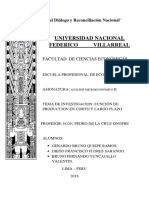 Monografia Funcion de Produccion - Microeconomia