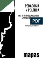 Pedagogía x Política