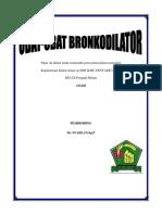 Paper Obat Bronkodilator
