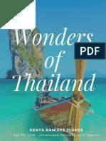 Wonders Of Thailand