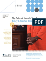 Color of Juvenile Transfer NASW Social Justice Brief