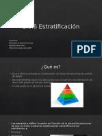 1.6.6 Estratificacion