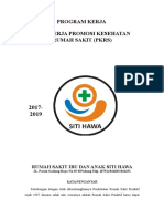 PROGRAM KERJA UNIT KERJA PROMOSI KESEHATAN RUMAH SAKIT (PKRS).doc