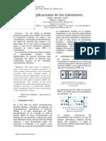 Electronica de Circuitos Transistores
