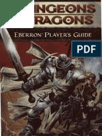 4th Eberron Player's Guide