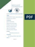 04. Agregados, Análisis Granulométrico Del Agregado Fino y Grueso