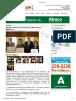 Entregan Premio Del Canciller Del Japón a Nikkeis