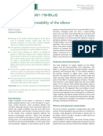 Chronic Medial Instability of the Elbow