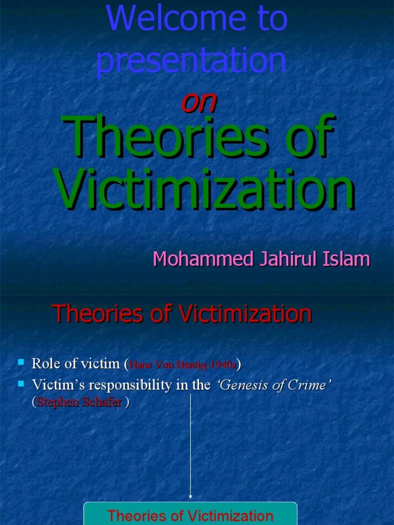 Victim Precipitation Theory | Law Enforcement | Crime & Justice