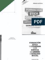 Formación ética y ciudadana con justicia de género e igualdad social - Susana Zattara