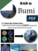 sains tingkatan 1 bab 9 bumi