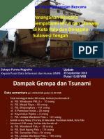 Penanganan Gempa Tsunami Sulawesi