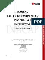 Manual de Panaderia y Pasteleria Tercer Semestre