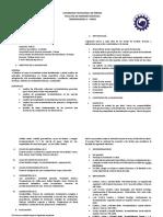 Programa Oficial Termodinámica II - II Semestre de 2018