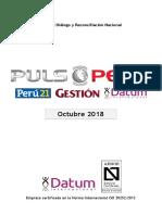 500-0118 - PULSO Octubre 2018 - Informe Coyuntura