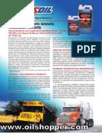 AMSOIL ATF for Allison® transmissions