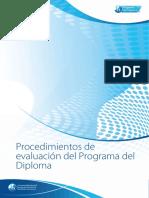 Procedimientos de Evaluacion PD